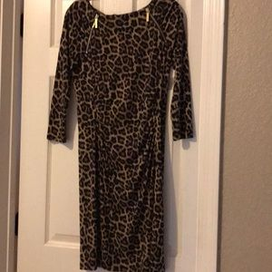 Michael Kors animal print GORGEOUS dress